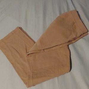 3/$15 beige leggings - medium